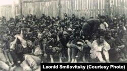 Габрэйскія вязьні ў Драздах, ліпень 1941