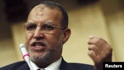 Эссам әл-Эриан, Египеттегі Еркіндік және әділет партиясы жетекшісінің орынбасары. Каир, 25 мамыр 2013 жыл.