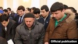 Москвадагы тажик мигранттары
