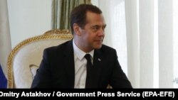 Дмитрий Медведев, Ресей премьер-министрі.