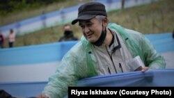 Айсуак Юмагулов на Куштау. 9 августа 2020 года