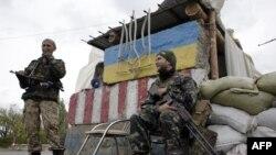 Донецк облысында жүрген украин әскерилері. 23 қыркүйек 2014 жыл.