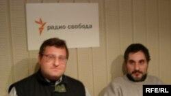 Президент Международной академии гуманитарных технологий Евгений Гильбо и историк Георг Габлиэлян