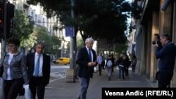 Predsednik opozicione Socijaldemokratske stranke Boris Tadić