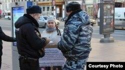 Пикет в Петербурге в поддержку Ильдара Дадина