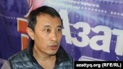 Режиссер Ермек Турсунов. Алматы, 13 марта 2015 года.