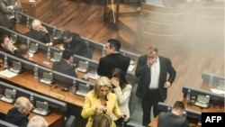 Kuvendi i Kosovës gjatë seancës më 8 tetor.