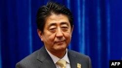 Синдзо Абэ, премьер-министр Японии.