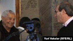Юрий Любимов и Юрий Векслер