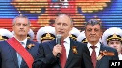 Пуцін выступае ў Крыме