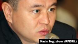 Мухтар Тайжан, оппозиционный политик. Алматы, 23 октября 2012 года.
