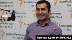 Բլոգեր, ակտիվիստ Բախտիար Հաջիևը հարցազրույց է տալիս «Ազատության» ադրբեջանական ծառայությանը, արխիվ