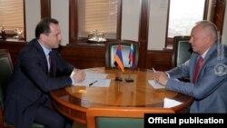 Фотография предоставлена Министерством обороны Армении