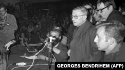 Сартр в Сорбонне в мае 68-го