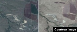 Квітень 2013 - серпень 2014. Військова техніка з'являється ліворуч від темного поля