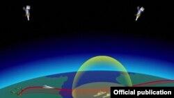 анимација на новото нуклеарно оружје што го претстави рускиот претседател Владимир Путин