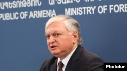 Հայաստանի ԱԳ նախարար Էդվարդ Նալբանդյան