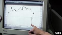 В понедельник российский рынок акций рухнул сразу на 9,05%