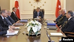 Թուրքիայի Ազգային անվտանգության խորհուրդը նիստ է անցկացնում Անկարայում` «Չանկայա» նախագահական պալատում, արխիվային լուսանկար