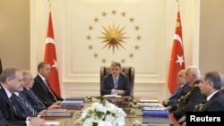 Թուրքիայի նախագահ Աբդուլա Գյուլը վարում է Ազգային անվտանգության խորհրդի նիստը:
