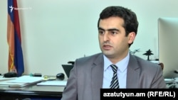 Министр транспорта, связи и информационных технологий Армении Акоп Аршакян (архив)