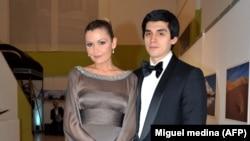 Лола Каримова-Тилляева с супругом Тимуром Тилляевым.