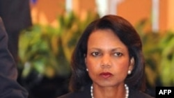 U.S. Secretary of State Condoleezza Rice in Singapore