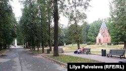 Мемориальный парк занимает 11 гектаров