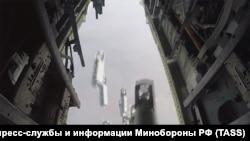 Российская авиация наносит бомбовый удар в провинции Дейр-эз-Зор. 2019 год.