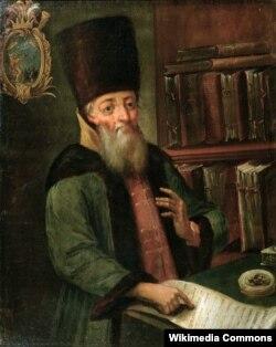 Ближний боярин и воевода Афанасий Лаврентьевич Ордин-Нащокин. XIX век c рисунка более раннего времени. Неизвестный художник