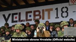 """Vojna vježba """"Velebit 18 - Združena snaga"""""""