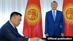 Дуйшенбек Зилалиев и Алмазбек Атамбаев.