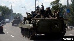 Ուկրաինա - Ռուսամետ անջատականները Դոնեցկում, 10-ը հուլիսի, 2014թ․