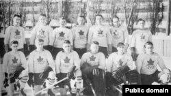 Канадская команда на Олимпийских играх в Шамони 1924 года