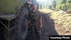 Максим Ільченко у зоні АТО. Літо 2014 року