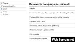 Snimak sa internet stranice Glasometar