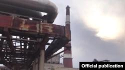 Бишкек шаарынын ЖЭБ-2 объектиси.