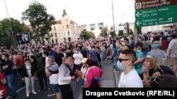 Protest u Nišu, 8. jul
