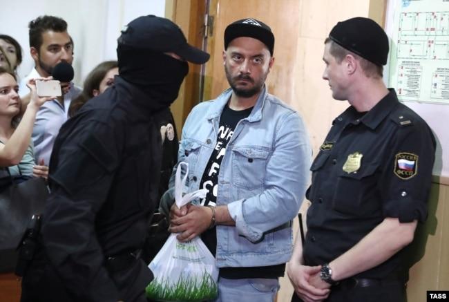 Кирилл Серебренников в зале суда, 23 августа 2017