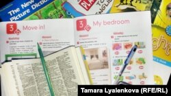 Russia -- English language text book and dictionary, 30 October 2014