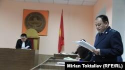 Суд по делу Камчы Кольбаева, Бишкек, 18 апреля 2013 года.