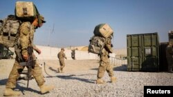 U.S. troops are scheduled to complete their pullout by September i1, ending two decades of a foreign military presence in Afghanistan. (file photo)