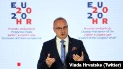 Ministar vanjskih i europskih poslova Hrvatske Gordan Grlić Radman