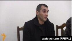 Ընդդիմադիր ակտիվիստ Ֆելիքս Գևորգյանը դատարանի դահլիճում, արխիվ