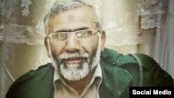 Иранский бригадный генерал Хамид Тагхави, убитый в Ираке.