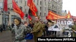 """Оппозиционный """"Марш Победы"""" в Москве"""