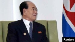 Ким Ен Нам, Солтүстік Корея парламентінің төрағасы.