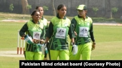 اعضای تیم کریکت زنان پاکستان