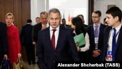 Сергей Шойгу, вазири дифои Русия. Акс аз соли 2017, Минск