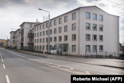 Бывшая штаб-квартира Штази в Дрездене на Баутцнерштрассе